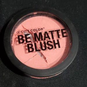 5for$20 City Color Be Matte Blush Fresh Melon